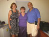 Jenny with Jan and Amgad Rushdy. They and their nephew Ashraf were instrumental in planning and supporting all my activities in Cambodia. A big thank you to them; they are making a big difference in the lives of people in Battambang.